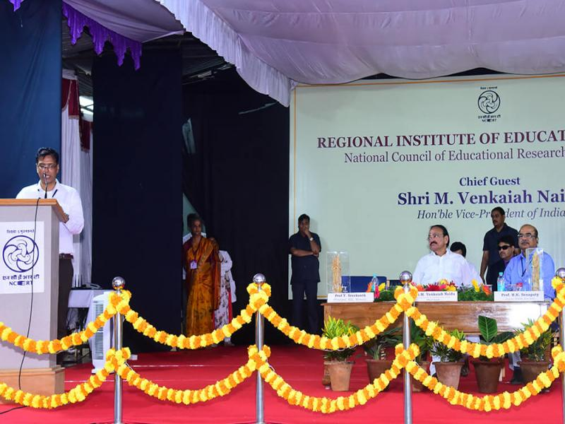 Honorable Vice President of India Visit to RIE, Mysuru